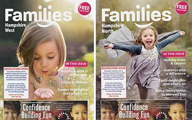 Frank & Bloom Featured In Families Magazine
