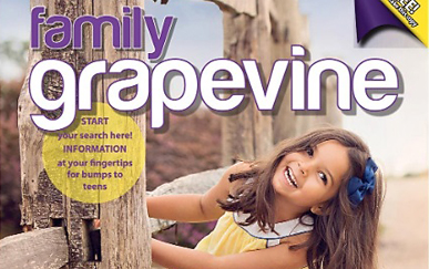 On The Cover Of Family Grapevine Magazine