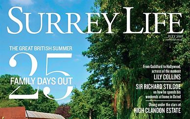 Frank & Bloom Featured In Surrey Life Magazine
