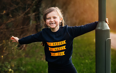 Different Kids' Clothes With Empowering Messages